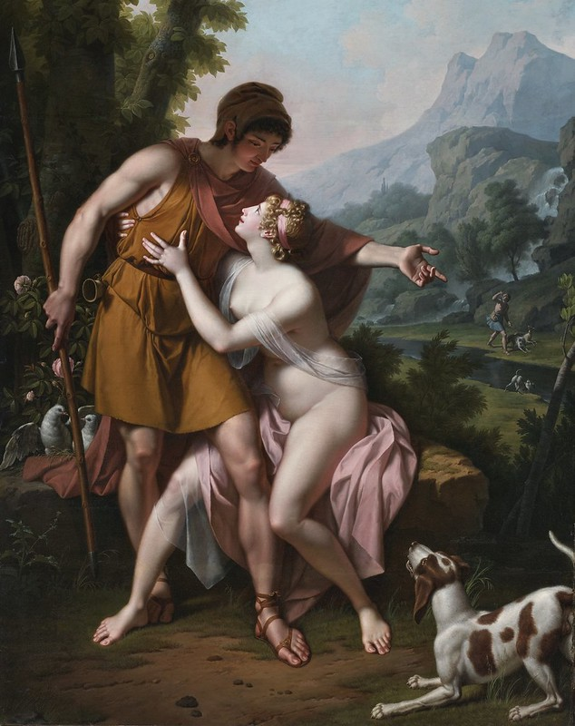 Jean-Baptiste Regnault - Venus and Adonis