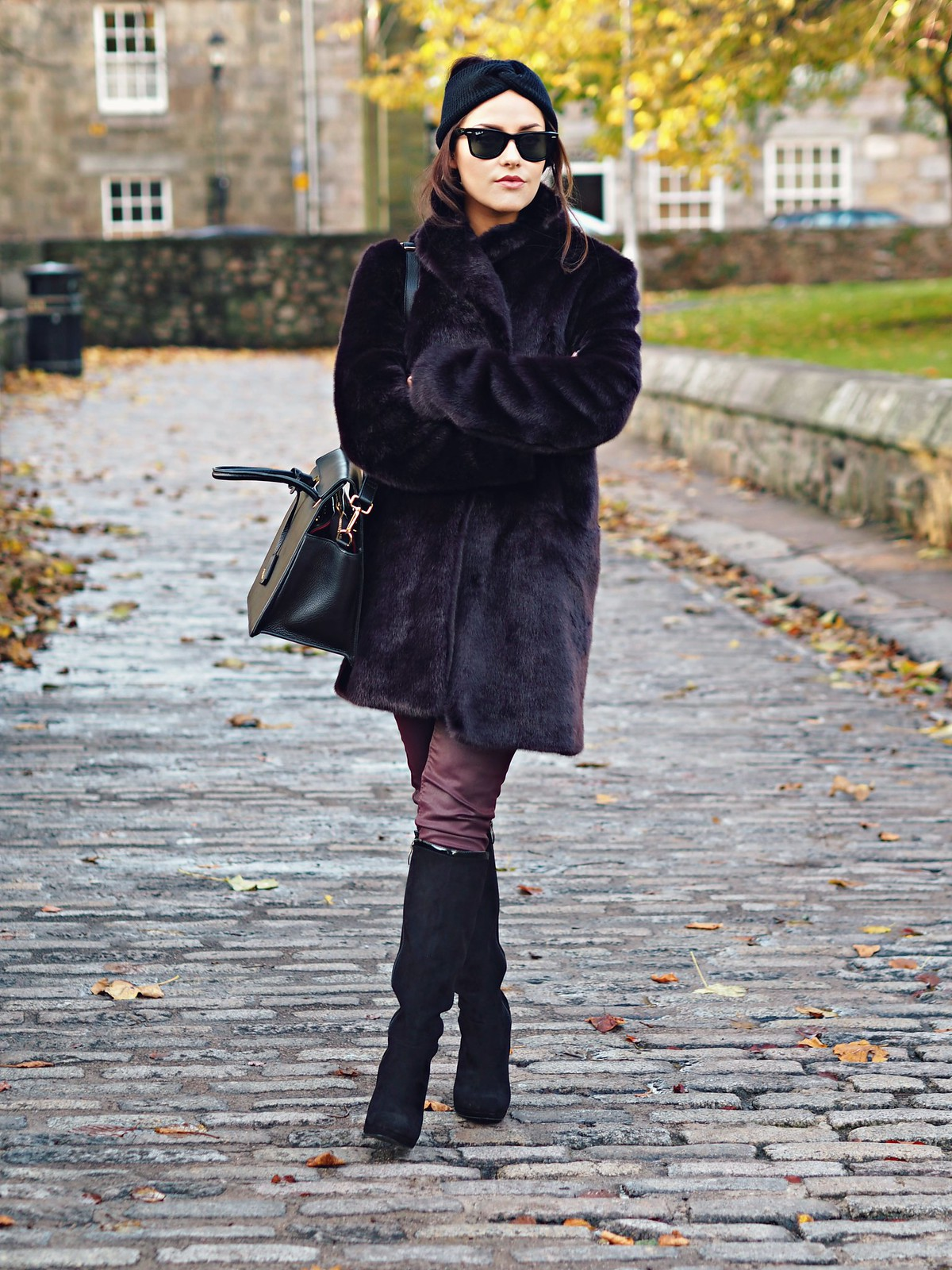 The Little Magpie Reiss Fur Coat 4