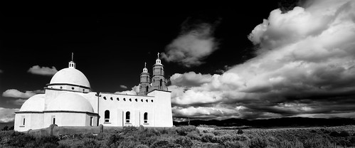 blackandwhite church monochrome clouds us colorado catholic unitedstates sanluis spanish mission