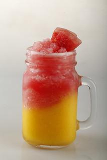 Mango-Watermelon Combo Shake