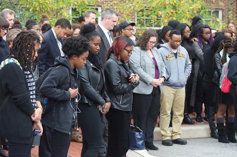 Black Student Union organizes walkout