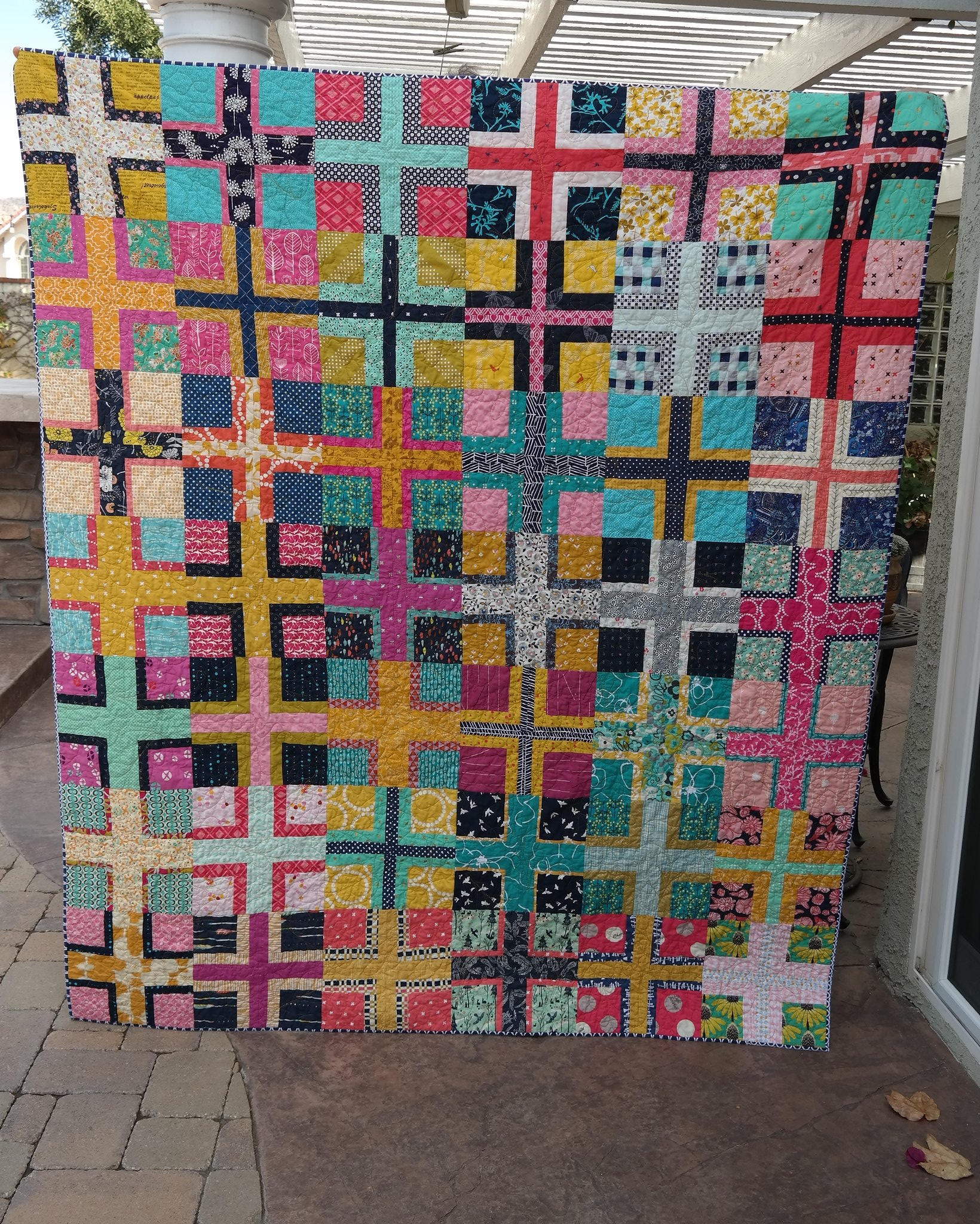intersection block quilt