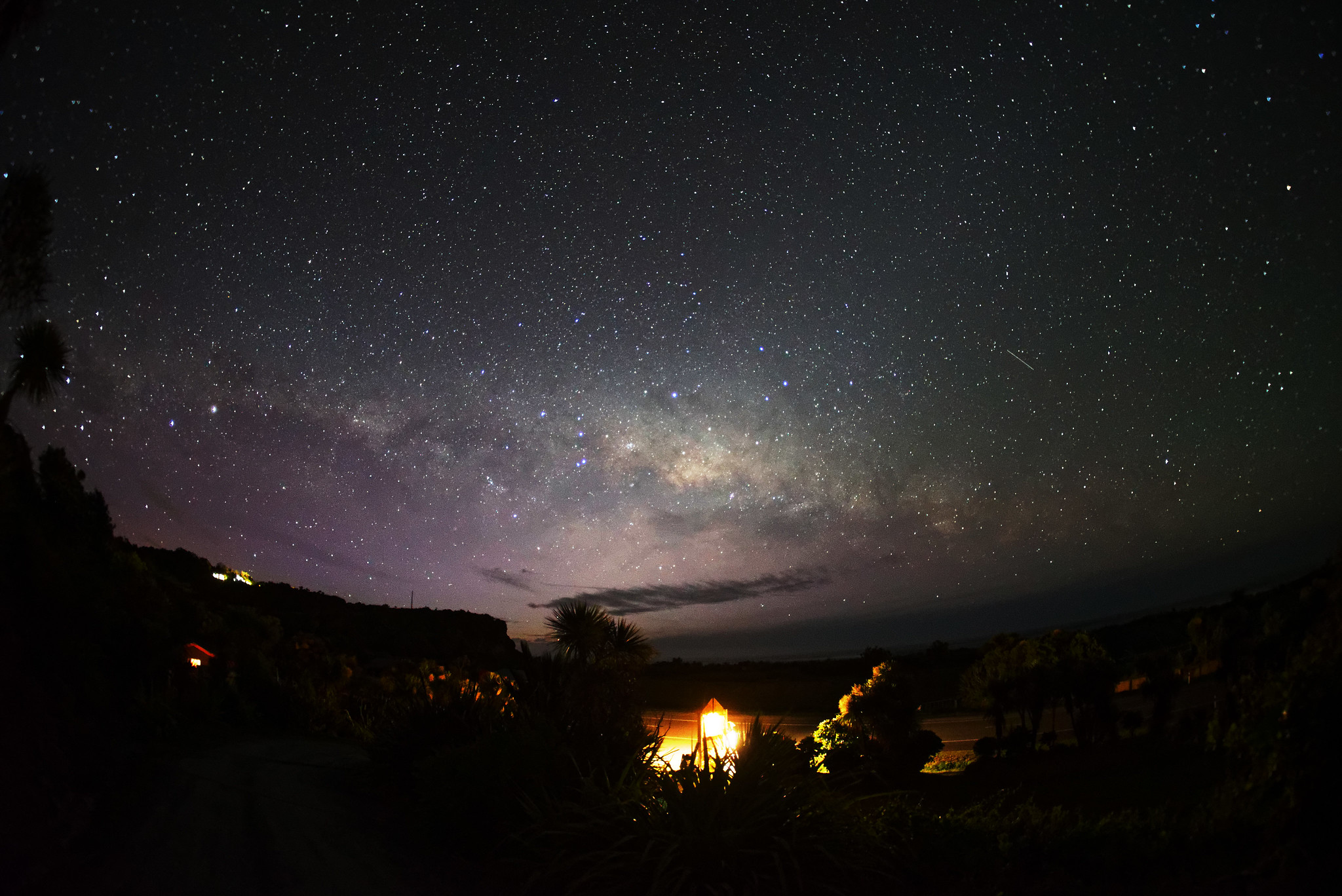 The Milky Way - Punakaiki