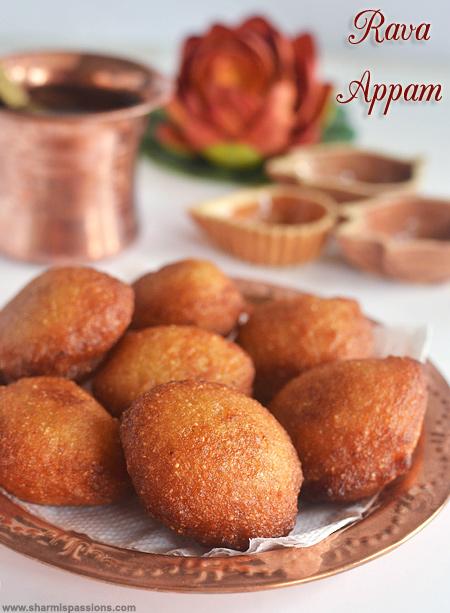 Rava Appam Recipe