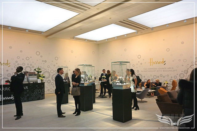 The Establishing Shot: SALONQP 2015 - HARRODS LOUNGE & BAR - SAATCHI GALLERY, LONDON