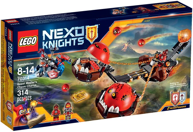 LEGO Nexo Knights 70314 - Beast Master's Chaos Chariot