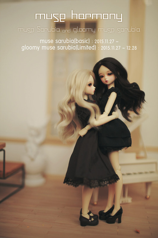 "[NEW] Muse Harmony, Basic ""Muse Sarubia"" & Special ""Gloomy Muse Sarubia"" Revealed!"