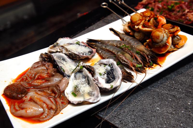 Kilo Grill Seafood Platter