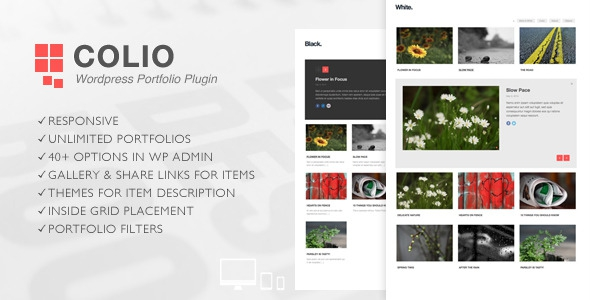 Codecanyon - Colio v.1.2 - Responsive Portfolio WordPress Plugin