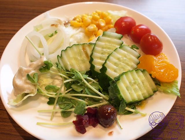 17 藝廊景觀餐廳 生菜沙拉