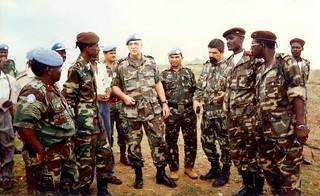 Als militair adviseur van de secretaris-generaal van de VN tussen rebellenleiders in Angola