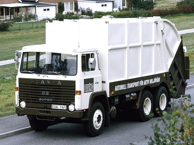 Мусоровоз Scania-Vabis LBS 85 Rolloffcon. 1968 – 1972 годы
