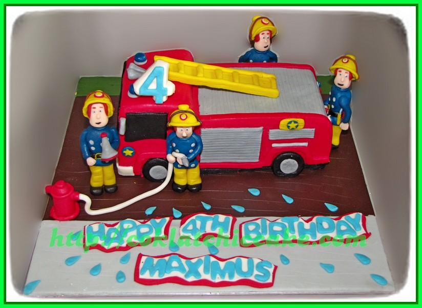 Cake Fireman / Cake Pemadam Kebakaran