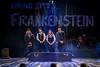 Tom Knott, Rebekah Hughes, Lauryn Redding and Mike Slader in Frankenstein at Salisbury Playhouse (Credit The Other Richard)