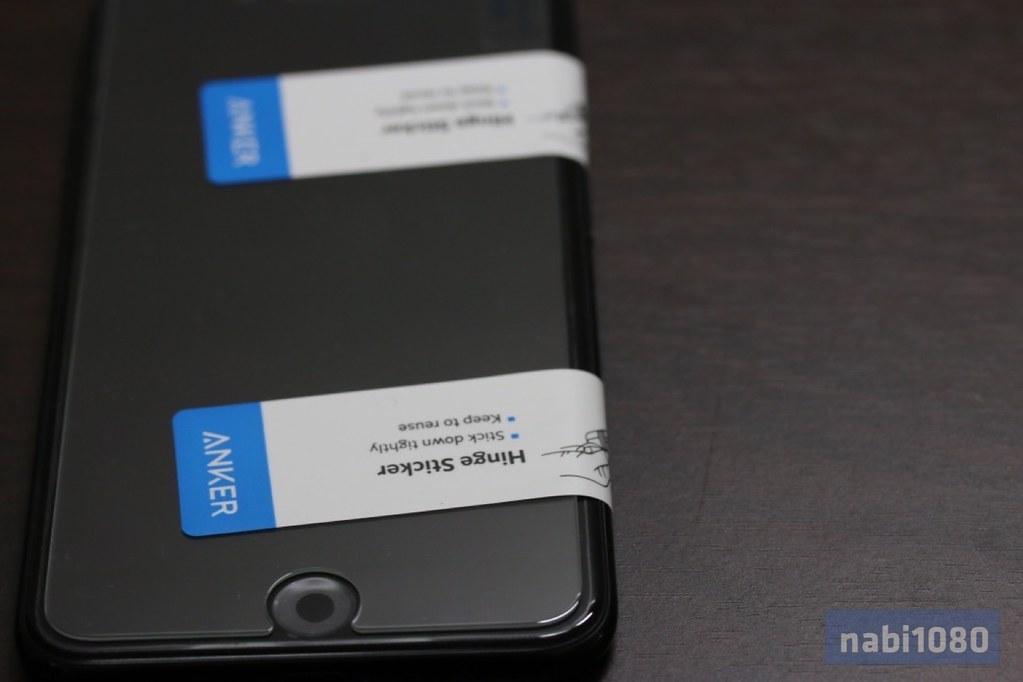 Anker ガラスフィルム iPhone 7 Plus07