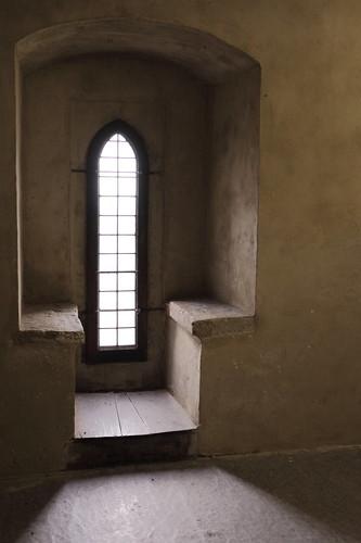 Fensternische im zweiten Obergeschoss