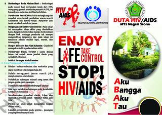 AIDS MTSN SRONO1 - indrasudharma - Flickr