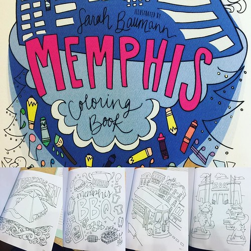 THE #memphiscoloringbook is NOW available @ryanpatricksalon !!! #choose901 #ryanpatricksalon #colortherapy