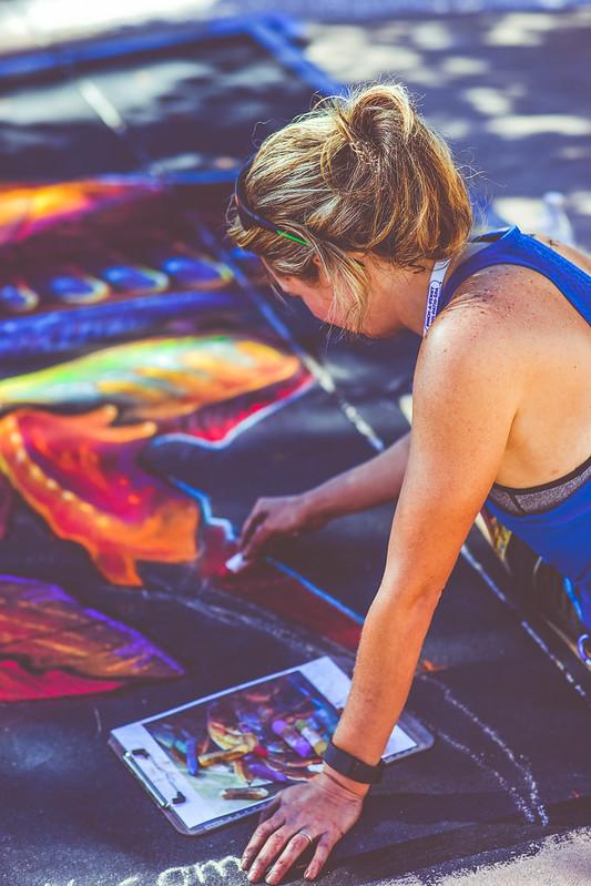 Clearwater Beach Chalk Art Festival 2016