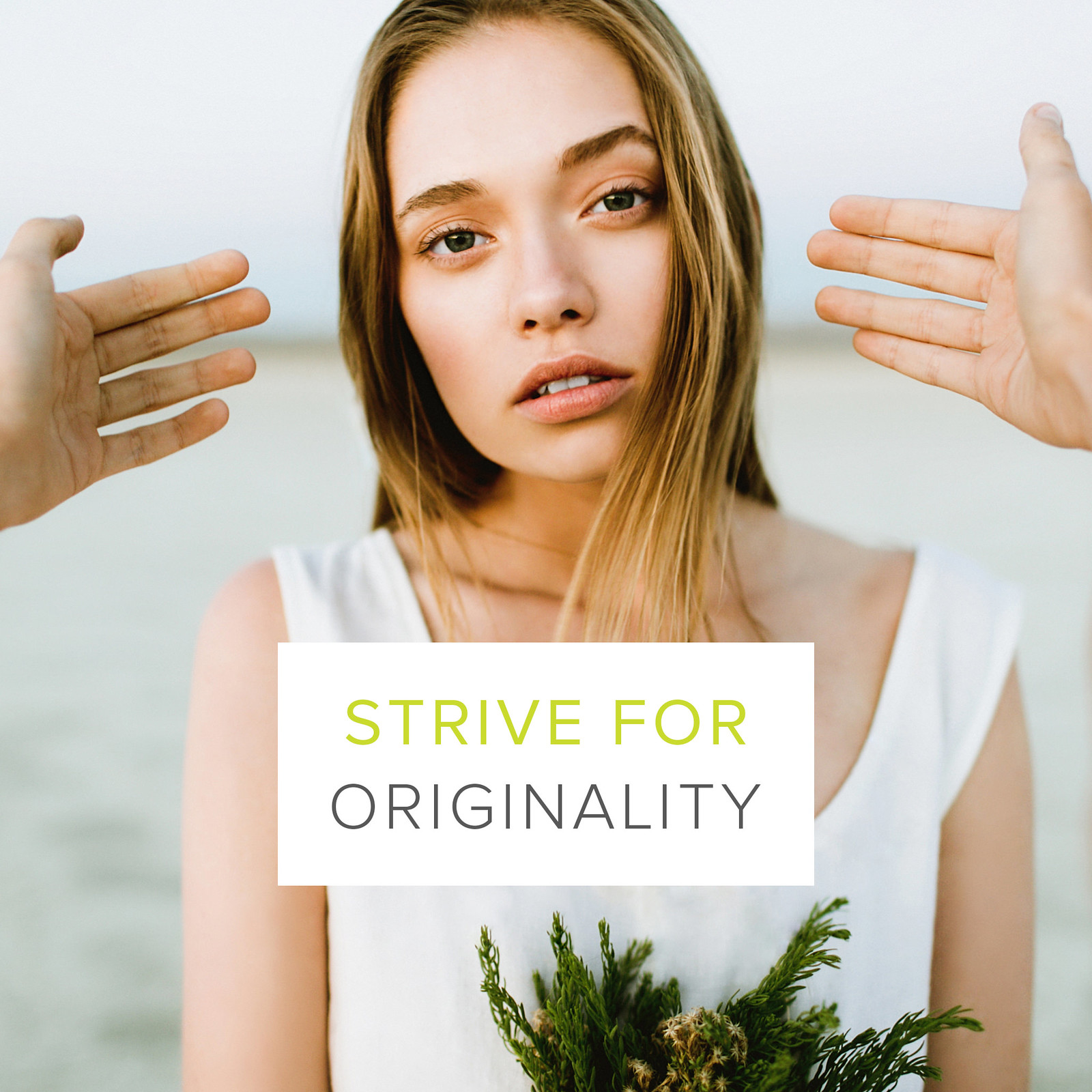 The Creative Manifesto // Ben Sasso // Strive for Originality