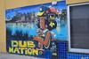 """ Au Lounge"" street mural"