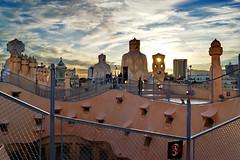 [2013-03-09] Casa Mila rooftop