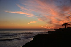 Sunset in Santa Cruz, California