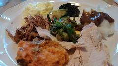 Thanksgiving Dinner Plate.