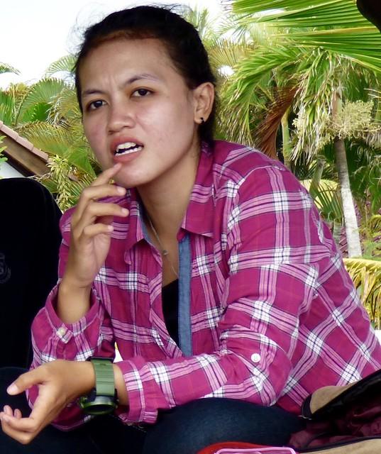 Balinese girl .