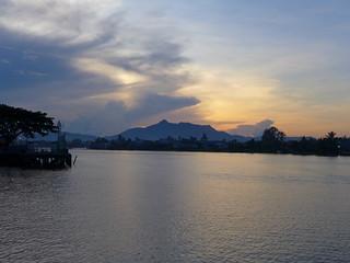 20141122_4247 Sarawak River waterfront sunset