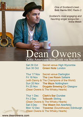 Dean Owens on tour