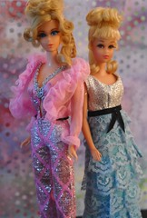 Growin' Pretty Hair Barbie and Francie