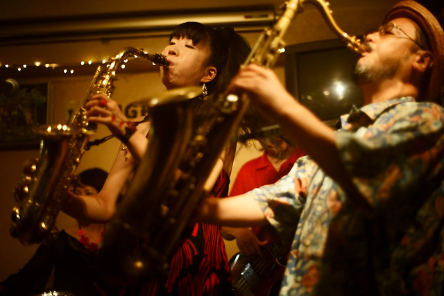 Blues live at Bright Brown, Tokyo, 16 Aug 2015. 340