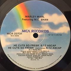 MARLEY MARL:HE CUTS SO FRESH(LABEL SIDE-A)