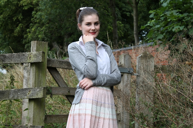 50s Grease Outfit via Lovebirds Vintage