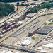 An Aerial Photo of Sound Transit's Light Rail Maintenance Center by AvgeekJoe