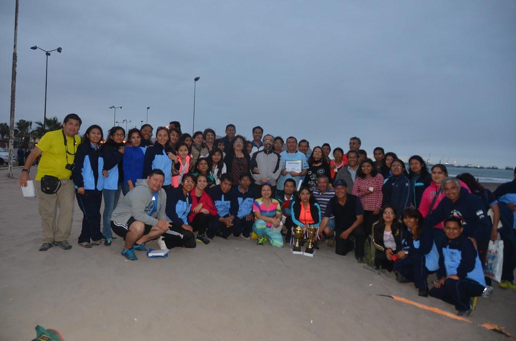 Primer Encuentro Deportivo entre INE Chile e INE Perú - 18 Agosto 2015