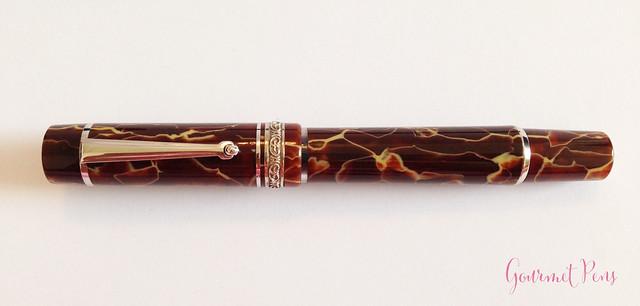 Review Delta Stantuffo Marmo Incrinato LE Fountain Pen @ChatterleyLux (1)