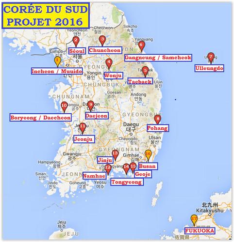 2016-Projet Corée du Sud