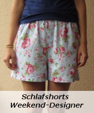 Schlafshorts Weekend Designer