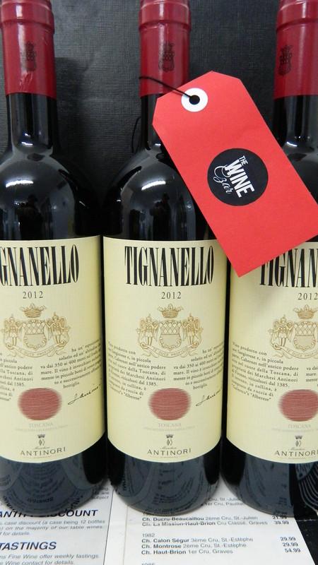 Antinori Tignanello 2012 Super Tuscan!