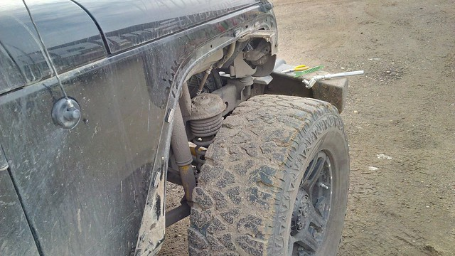 jeep fender replacement