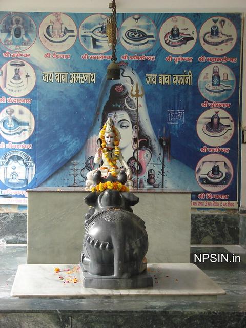 Lord Shiv with Nandi Ji