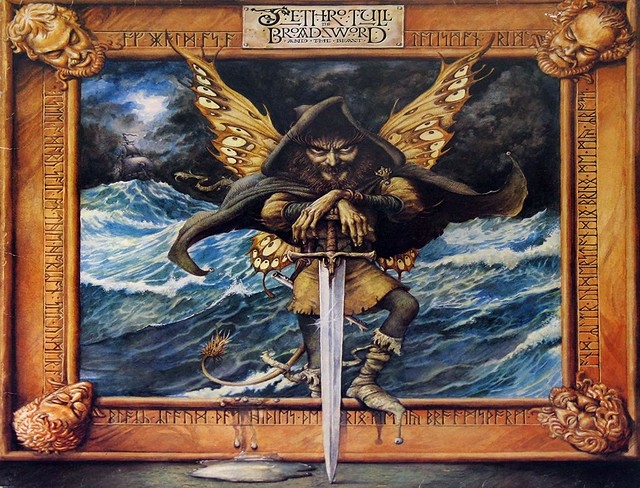 """JETHRO TULL THE BROADSWORD AND THE BEAST Holland 12"""" VInyl LP"""
