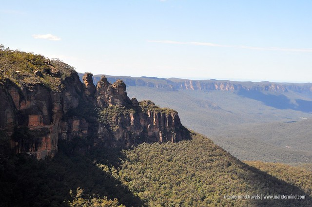 The View of Blue Mountains from Scenic World