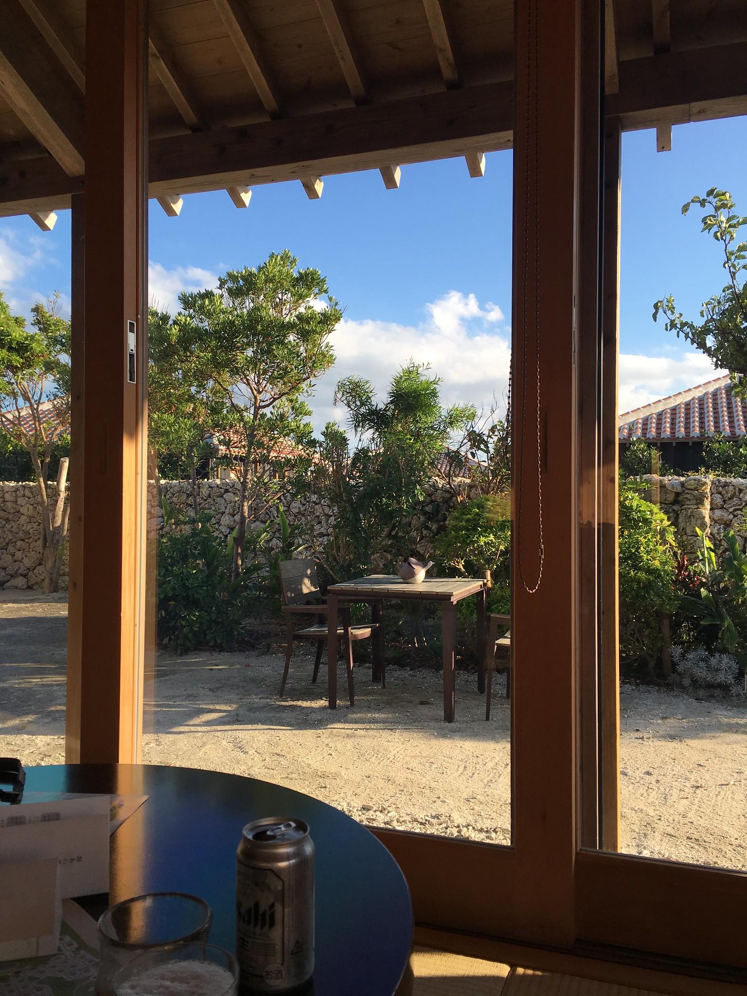 星のや竹富島の部屋からの眺め