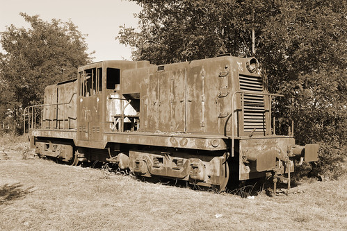 Vieille locomotive