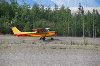 133 Vliegtuig met Arjan