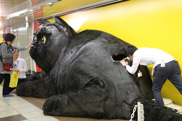 巨大クロネコ全国行脚 クロネコヤマト