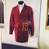 A cardigan of Roosevelt High School is on display at the Japanese American National Museum. Is this the fate of our School, in a museum like some lost ancient artifact?  #gentrification at its finest, take Roosevelt's accreditation away and turn it into a by Eddie Ruvalcaba